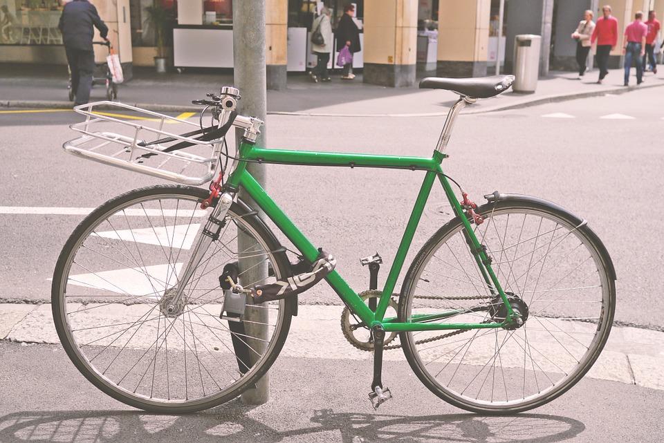 zabezpieczenie roweru - łańcuch