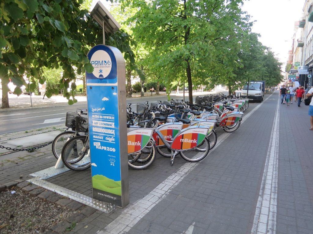 Poznański Rower Miejski - stacja