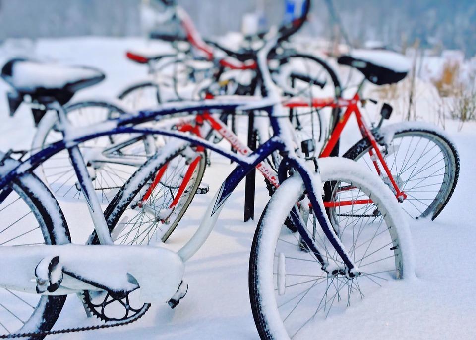 konkurs Zimowy portret rowerzysty