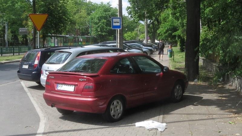 Grunwaldzka parkowanie