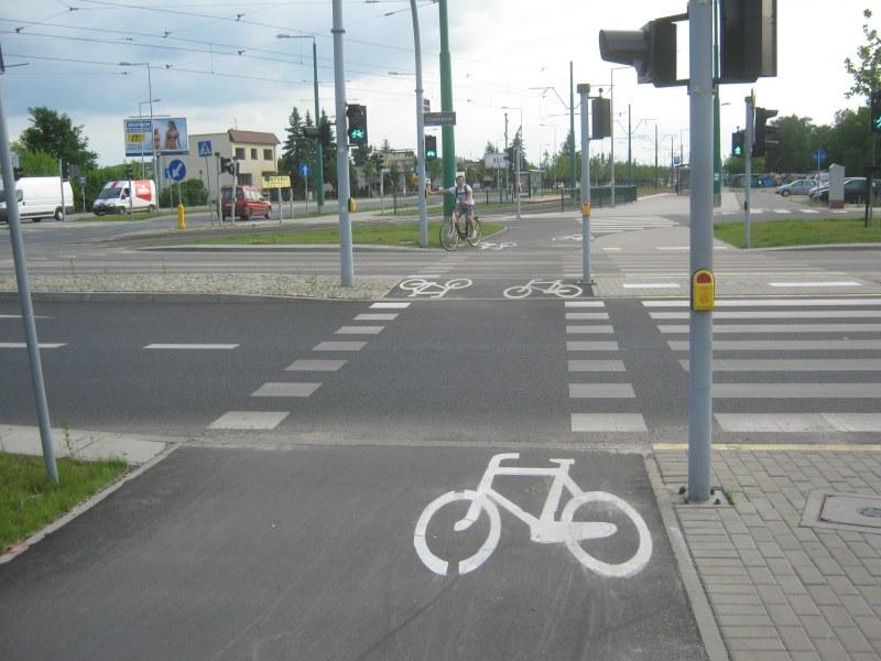 Przejazd rowerowy Grunwaldzka