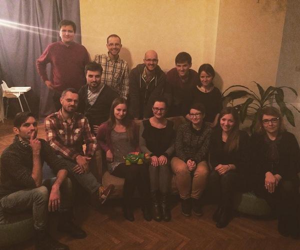 spotkanie członków Rowerowego Poznania