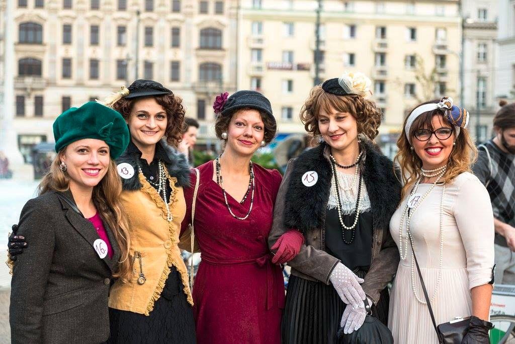 Tweed Ride Poznań moda kreacje