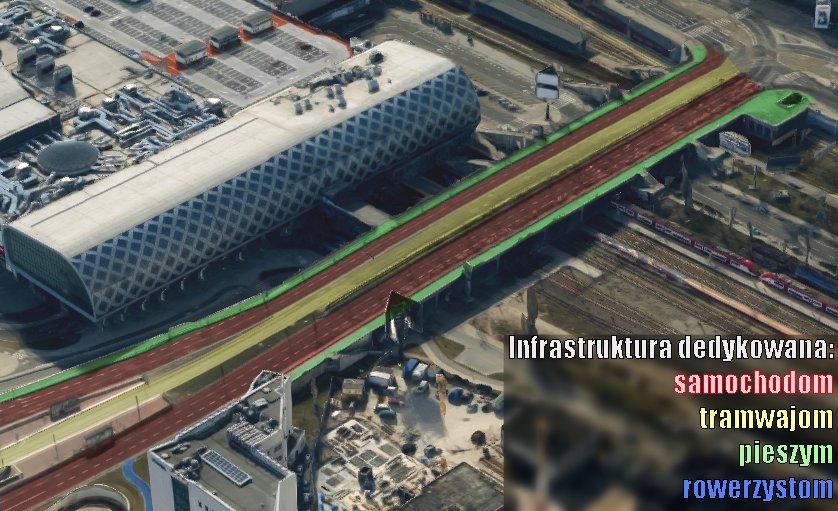 Niestety w głosowaniu przepadł projekt stwarzający bezpieczne warunki do przejazdu rowerem przez Most Dworcowy.