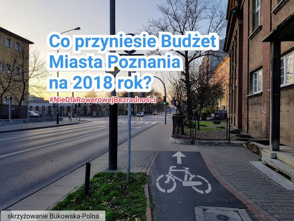 Brakujący odcinek drogi dla rowerów na ulicy Bukowskiej