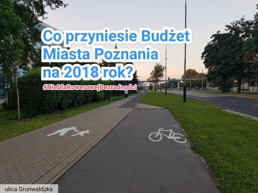 Grunwaldzka Trasa Rowerowa - miejsce urwanej trasy za Rondem Skubiszewskiego