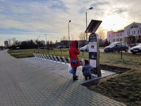 stacja Poznańskiego Roweru Miejskiego (PRM) Polanka
