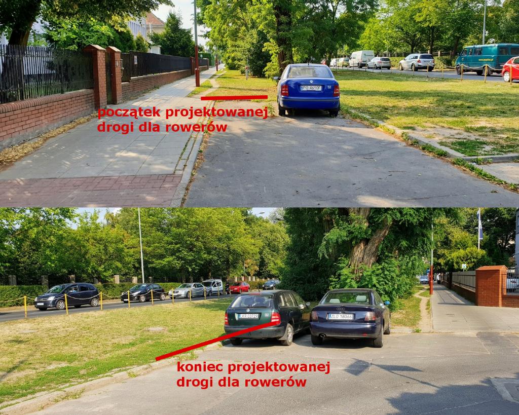 Nowy Kontraruch Na Ul Dąbrowskiego Rowerowe Aktualności Z