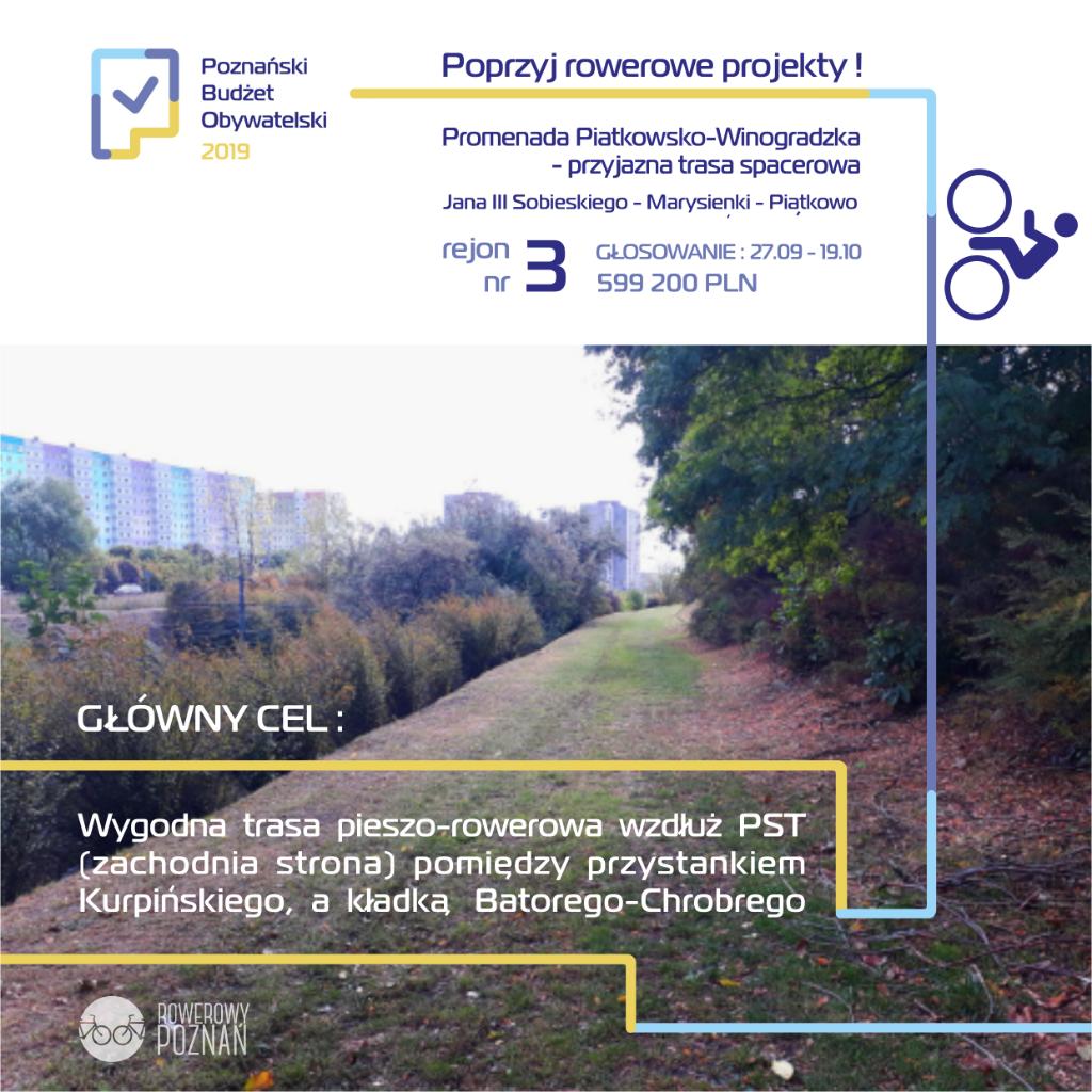 Promenada Piątkowsko-Winogradzka - przyjazna trasa spacerowa