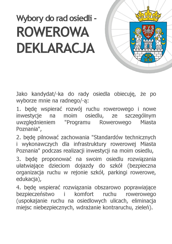 Wybory do rad osiedli w Poznaniu kandydaci